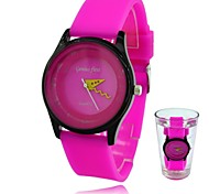 Women's Watch Fashion Silicone Strap Candy Waterproof Students Sport Wrist Watches(Assorted Colors)