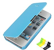 Frosted Design Magnetic Buckle Full Body Case and Phone Holder for iPhone 5/5S