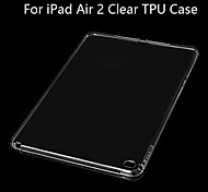 BIG D TPU Clear Soft Back Case for iPad Air 2(Assorted Color)