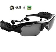 occhiali da sole di video + MP3 Player occhiali DV DVR fotocamera videocamera di sport eyewear