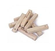 1 Stück natürliche Aromatherapie Holz Schädlingsbekämpfung Motte (zufällige Buchstaben)