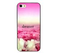 colorido caso projeto sonhador difícil para iPhone 4 / 4S