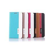 Teléfono Móvil Samsung - Fundas con Soporte - Diseño Especial - para Samsung Samsung Galaxy S6 edge ( Negro/Rojo/Azul/Rosa/Dorado , Cuero PU/TPU )