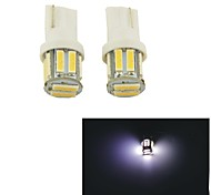 Carking™ T10-7014-10SMD Car LED Rome Lamp Clearance Lamp-(2PCS)White Light
