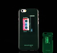tape recorder Pattern Glow in the Dark Hard Case for iPhone 6