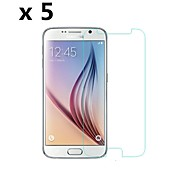 [5-Pack] High Quality Protective Matte Anti-fingerprintScreen Protectors for Samsung Galaxy S6