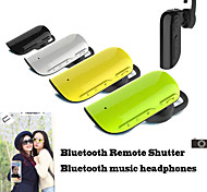 Sports Stereo Bluetooth  Headphones with Mic Bluetooth Remote Shutter for Samsung  S6 + More Equipment(Assorted Color)