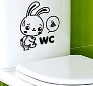 multifonction pvc toilette décorative autocollants