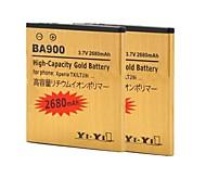 batería de repuesto - 2680 - Sony Ericsson BA900 - No