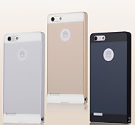 Metal Frame Acrylic Mirror Backplane Metal Hard Case for Huawei G6 (Assorted Colors)