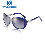 Sunglasses Women's Classic / Lightweight / Retro/Vintage / Modern / Fashion / Polarized Oversized Black / Blue / LeopardSunglasses /