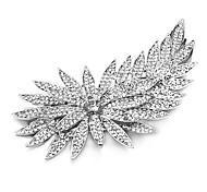 Women's Alloy / Cubic Zirconia Headpiece Flowers Clear