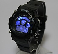 Kids' Calendar Sports Charm watch Quartz Digital LED