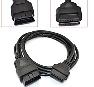 9.8ft 3M OBD 2 OBD II 16 Pin Car Mable to Female Extension Cable Diagnostic Extender