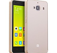 HHMM Aluminum Frame PC Back Cover Mobile Phone Covers Protective Cases For Xiaomi RedMi 2 (Assorted Colors)