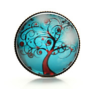 Vilam® Life Tree Peace Tree Windy Branch Cabochon Time Gem Brooch