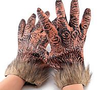 lupi mannari peluche eludere colla guanti per halloween (2 pz)