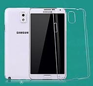 transparent harter PC-Kasten für Samsung-Note 3