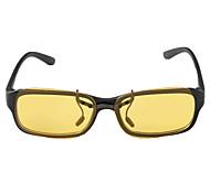 Polarized Rectangle PC Clip-on Sunglasses Lenses