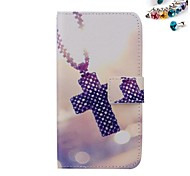 Cross Pattern PU leather Full Body Case Dustproof Plug With Card Slot and Stand for Motorola G2