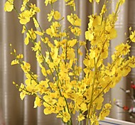 1 Branch Silk Plastic Orchids Tabletop Flower Artificial Flowers 94 5 5