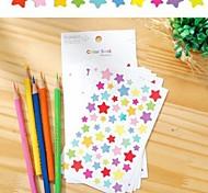 Colorful Funny Pentagram Sticker Set(6 PCS)