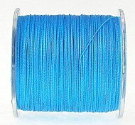 300M / 330 Yards PE Braided Line / Dyneema / Superline Fishing Line Blue 50LB / 60LB / 80LB / 70LB 0.37mm,0.40mm,0.45mm mm ForSea Fishing