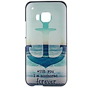 Anchor Pattern PC Hard Back Case for HTC One M9