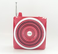 "Portable 25W 1.6"" LCD Waist Hanging Loudspeaker w/ TF / USB / 3.5mm / FM"