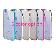 Gold Frame Plus Transparent Acrylic Cover Version of The Phone Shell Pull Applicable Iphone6 (Assorted Colors)
