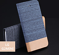 Jeans PU Holder Mobile Phone Case for LG G2 mini(Assorted Colors)