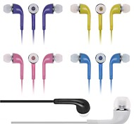 BIG D Classic 3.5mm In-Ear Earphones with  Microphone&Volume Control for Samsung HTC and Others(Assorted Colors)