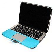 "Protective PU Leather Flip Open Case for MACBOOK PRO 13.3""(Assorted Colors)"