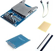 SD Card Module Slot Socket Reader and Accessories for Arduino