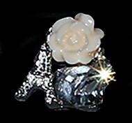 10PCS Lovely Unique Design Diamond 4D Alloy Nail Art Decoration(Assorted Color)