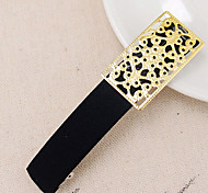 European Style Fshion Hollow Metal Fabric Hairpin