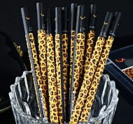 Light Leopard Grain Black Ink Gel Pen(1 PCS)