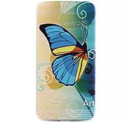Samsung Handy - Samsung Samsung Galaxy S6 edge - Rückseitige Hülle - Grafik/Cartoon/Spezielles Design ( Multi-color , TPU )