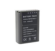 1220mAh  BLN-1 Full Decoded Camcorder Battery Pack  for Olympus  OM-D E-P5 EP5 E-M5 EM5