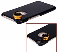 APEXEL Detachable 2 in 1 Screw-in Wide Angle 0.67X and 10X Macro Lens with Back Case for iPhone 6 Plus(Assorted Color)