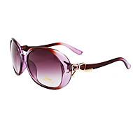 de gran tamaño de acrílico retro gafas de sol de las mujeres anti-reflectantes