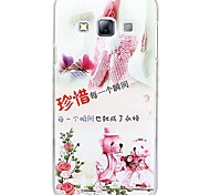 Fashion Painted Toy PC Hard Case for Samsung Galaxy A3