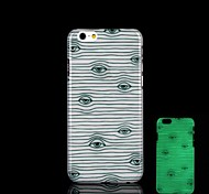 Stripe Pattern Glow in the Dark Hard Case for iPhone 6