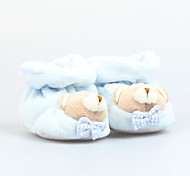 Fly By Fly- Cute Bear Baby  Pure Cotton Soft Toddler Shoes 15cm