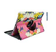 7.9 Inch Flower Pattern PU Leather Case with Stand and Pen for iPad mini 1/2/3