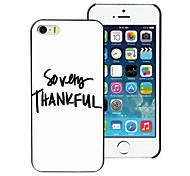 So Very Thankful Design Hard Case for iPhone 5/5S