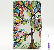 The Tree of Life Pattern PU Leather Case Cover with A Touch Pen ,Stand and Card Holder for LG L70