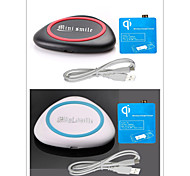 Minismile™ QI Wireless Charger Pad Kit + Wireless Charging Receiver for Samsung Galaxy S4