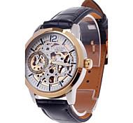 CJIABA GK8002 Double-Sided Hollow Automatic Mechanical Men's Wrist Watch