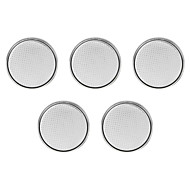 Button Batteria - CR (Litio-Ion) mAh ) - 3 - ( V ) - 5 - pc